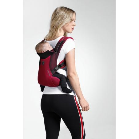 Mochila portabebés BEYLA TWIST Racing Red